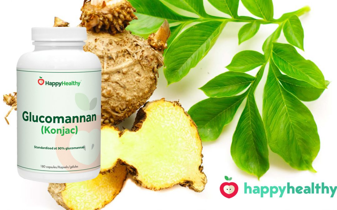 Sneller afvallen met HappyHealty glucomannan supplement?